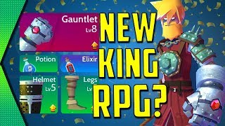 Knights of Fury - NEW RPG BY KING (AND CELEBRATION!) | MGQ Ep. 200