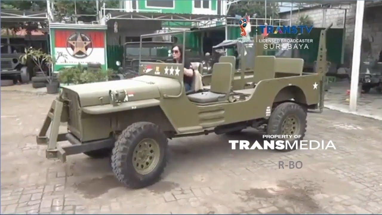 Mobil Bekas Disulap Ala Jeep Khas Perang Dunia