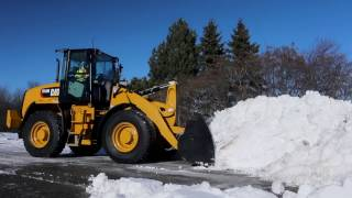 Cat® Snow Attachments at Work