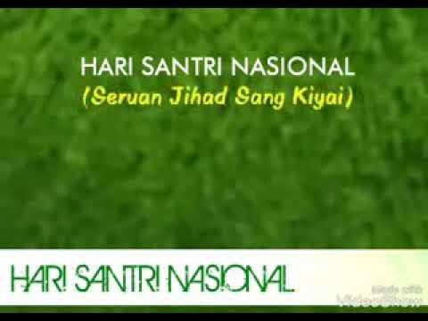 Lagu HARI SANTRI NASIONAL New Release 2017
