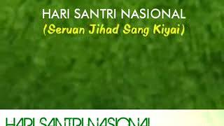 Download Video Lagu HARI SANTRI NASIONAL New Release 2017 MP3 3GP MP4