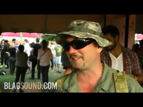BlagSound.com - Huey Morgan interview at Wireless Festival 2011