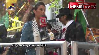 London Quds Day Rally: We Will Wipe Israel off the Map, Kick Zionists Out