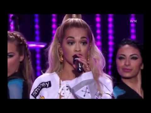 Rita Ora - RIP/How We Do & I Will Never Let You Down LIVE - VG-Lista 2014 Rådhusplassen