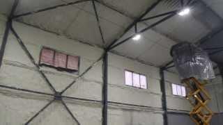 видео Технологии утепления ангаров