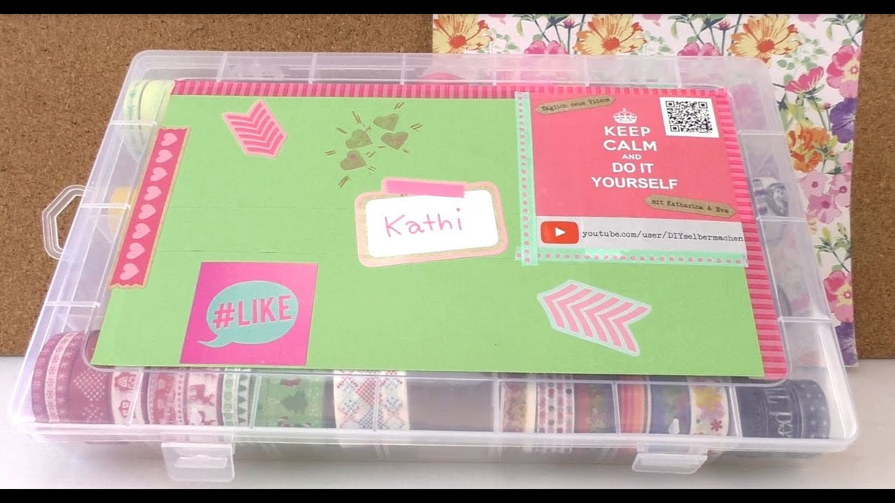 kathis washi tape box kathi pr sentiert ihre neue box. Black Bedroom Furniture Sets. Home Design Ideas