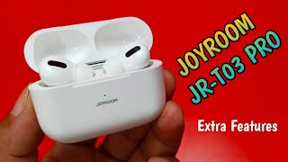 Joyroom T03 PRO 2020, Joyroom JR-T03 Pro TWS Wireless Earbuds Unboxing & Full Review Urdu/Hindi.