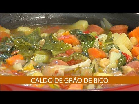 CALDO DE GRÃO DE BICO