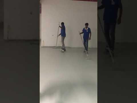 Alfan epoxy floor painting UAE