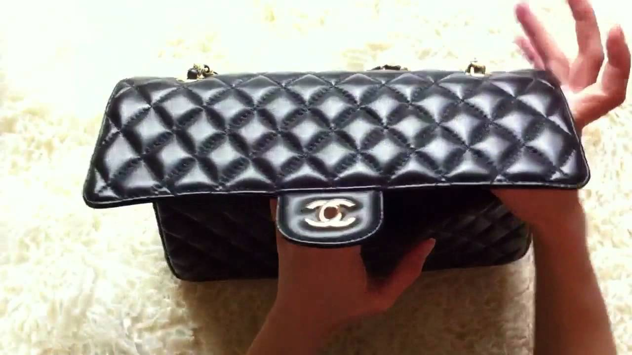 b71163a18737 CHANEL Classic Flap Bag Medium/ Сумка Шанель - YouTube