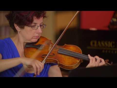 Schubert: String Quintet in C Maj, D. 956: III. Scherzo (excerpt) | Girsky Quartet wth Andrew Cook