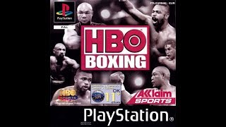 HBO Boxing - Playstation PS1 (PSX) Gameplay