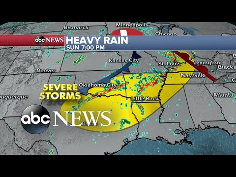 Destructive storms expected