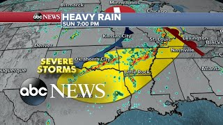 Destructive storms expected to spread through US