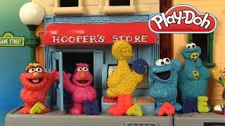 Pâte à Modeler Play Doh 1 rue Sésame Apprendre l'Alphabet