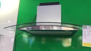 Giới thiệu máy hút mùi kính cong Kangaroo KG538