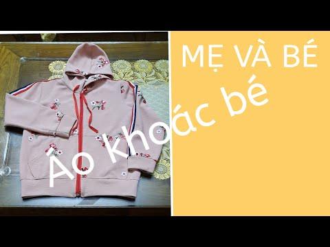 #aokhoacbegai#aobe Hướng Dẫn Cắt áo Khoác Thể Thao Cho Bé Gái .Áo đôi Mẹ Và Bé (phần 1)