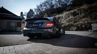 Liberty Walk Mercedes C63 AMG | 3SDM Alloy Wheels