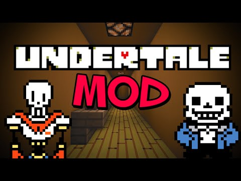 UNDERTALE MOD - Minecraft Mod Showcase