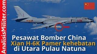 Pamer Kehebatan, Pesawat Bomber H-6K China Latih Tempur di Laut China Selatan