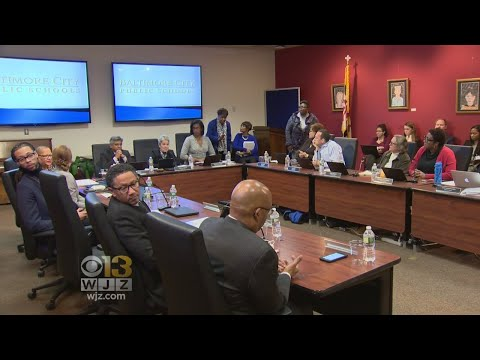 Parents On Hand As Baltimore City Public School Board Holds Meeting On Maintenance Issues