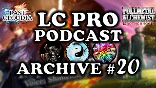 LC PRO PODCAST 20 Roy Mustang Introduces Michael Bay Explosions to LC  ft. TheKryptman  Tweacz