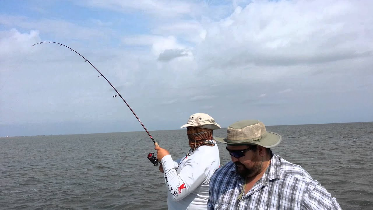 25 inch red fish arroyo city texas youtube for Arroyo city fishing