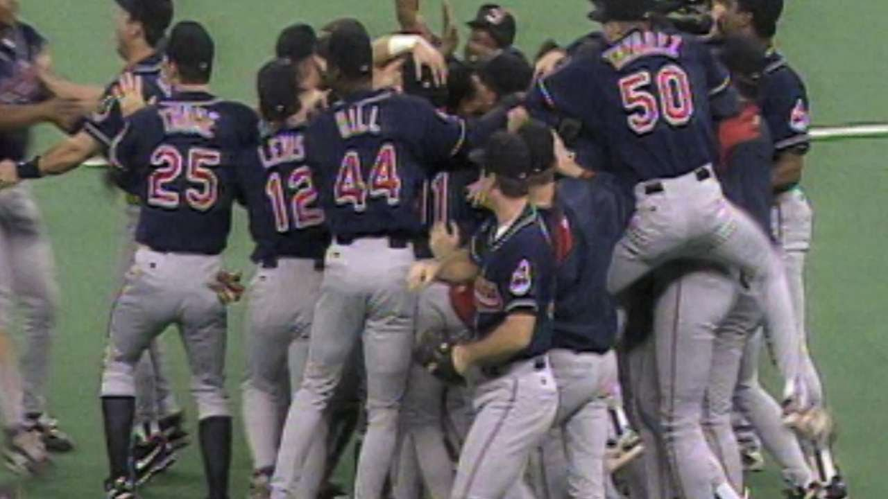 A look back at the best of the 1995 Indians