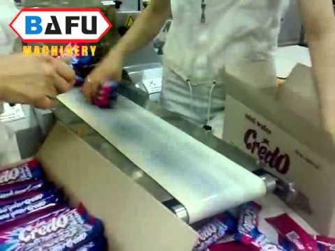 μηχάνημα μεμβράνης περιτύλιξης σοκολάτας, γκοφρέτες μηχανή συσκευασίας