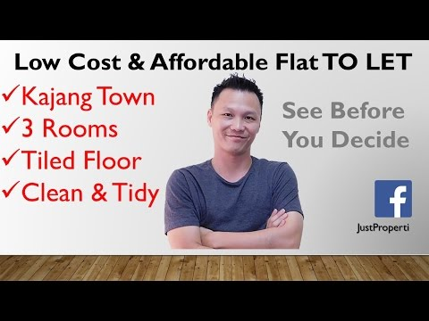 Low Cost Affordable Flat TO LET (FOR RENTAL) in Kajang Town