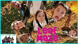 LEAF MAZE Freeze Tag / That YouTub3 Family