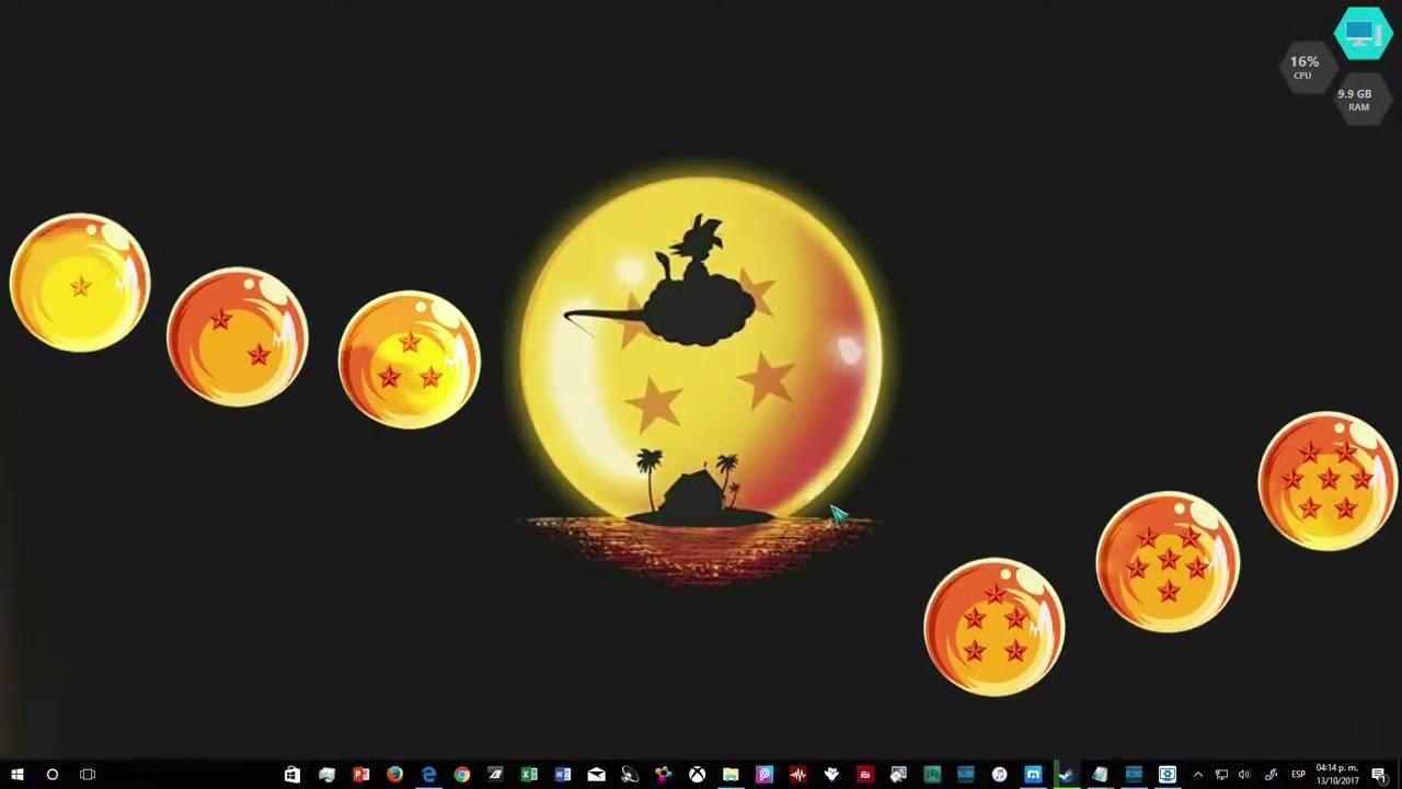 Live Wallpaper Kid Goku Youtube