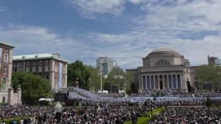 Columbia University Commencement 2016 4K