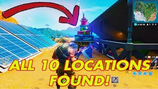 ALL FORTNITE BIRTHDAY CAKE LOCATIONS *NEW 2019* (How to get the Birthday Cake Pickaxe in Fortnite)