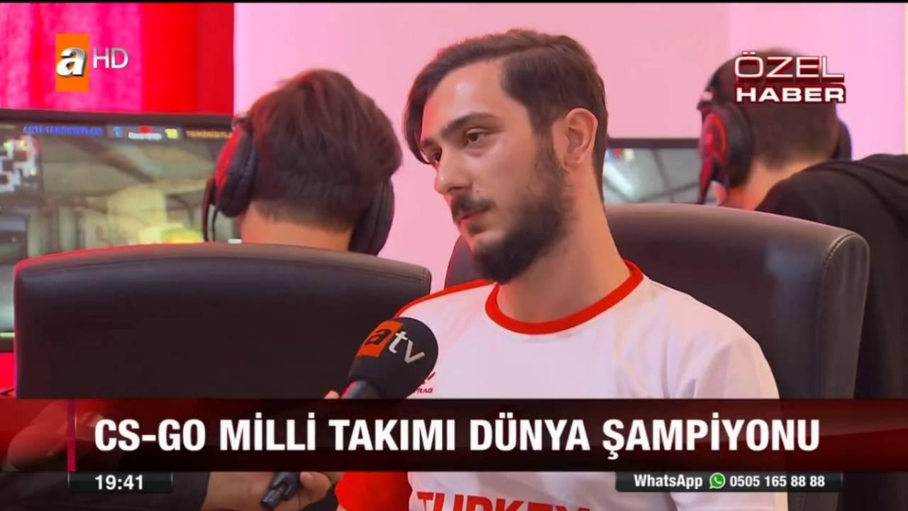 E Spor Türkiye, CS:GO Dünya Şampiyonu Türkiye Takımı ATV Röportajı