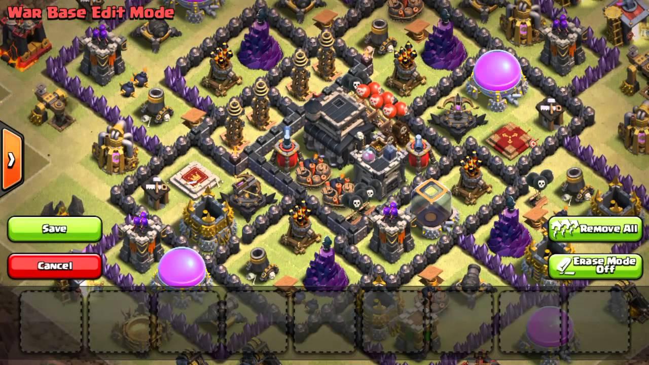 Base Th 9 Buat War 7