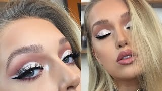 Icy Cut Crease Makeup Tutorial