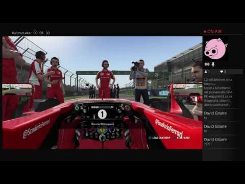 Livestream: F1 2016 - Online multiplayer gameplay