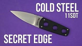 Розпакування Cold Steel Secret Edge 11SDT