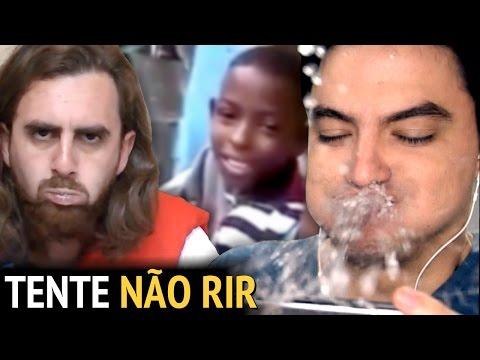 DESAFIO TENTE NÃO RIR - COM ÁGUA NA BOCA! [+13]