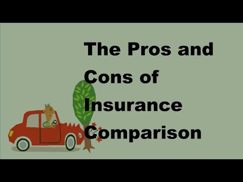 The Pros and Cons of Insurance Comparison Tools - 2017 Automobile Insurance Tips
