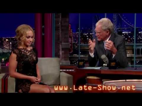HQ Hayden Panettiere on David Letterman   July 6 2009 FULL INTERVIEW