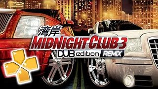 Midnight Club 3 Dub Edition PPSSPP Gameplay Full HD / 60FPS