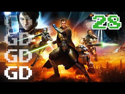 Star Wars The Old Republic Jedi Knight Gameplay Part 28 – Medical District – SWTOR Let's Play Series