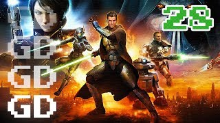 Star Wars The Old Republic Jedi Knight Gameplay Part 28 - Medical District - SWTOR Let's Play Series