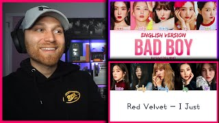 Download lagu Red Velvet (레드벨벳)  - I Just Lyrics - 'Bad Boy (Eng Version)' LYRICS   REACTION!