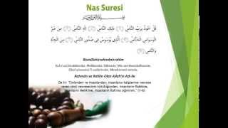 Hızlandırılmış 70 Nas Suresi (23 dk) Kabe İmamı Maher al muaiqly