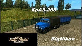 Мод Краз-260 для Euro Truck Simulator 2 (v1.28.x, 1.30.x)