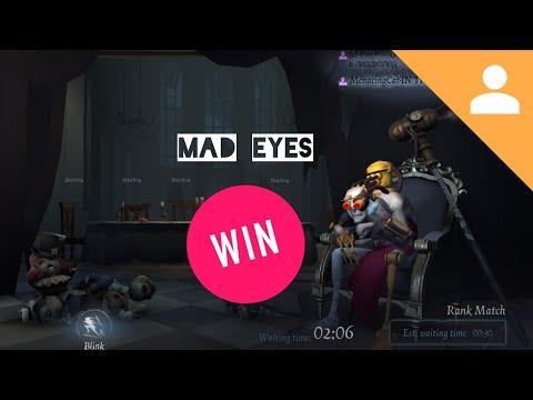 Match against AlYx ~ Top Mad Eyes - Gameplay [Identity V]