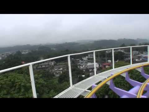 Jetcorster Discovery Jet Coaster Roller Coaster Front Seat POV Onride Lina World Japan